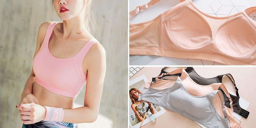 POWER GIRL 機能透氣排汗親膚運動內衣
