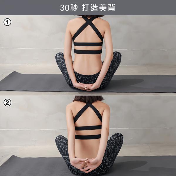 如何練背部肌肉?運動4大招 虎背熊腰OUT