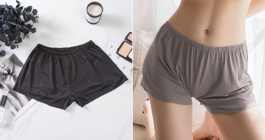 絲滑親膚透氣安全褲/睡褲